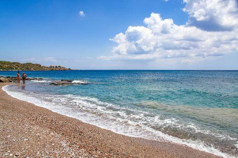 Kallithea: Relaxing sea view, Kallithea beach