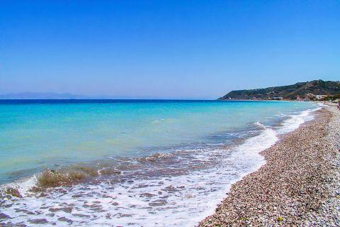 Ixia: On the coast of Ixia beach.