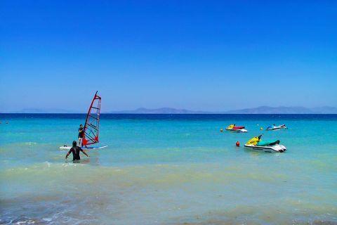 Ixia: Ixia beach is a popular tourist destination.