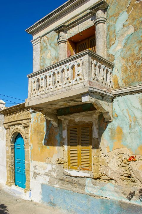 Koskinou: An old house.