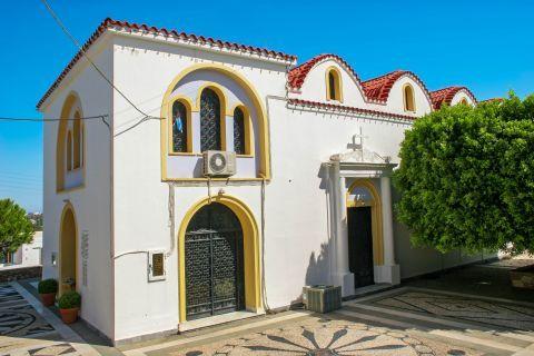 Koskinou: An elegant church.