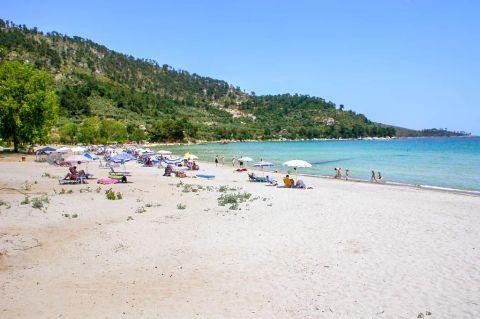 Golden Beach: Nice natural surroundings.