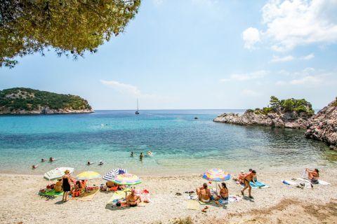 Stafilos: Relaxing sea view.