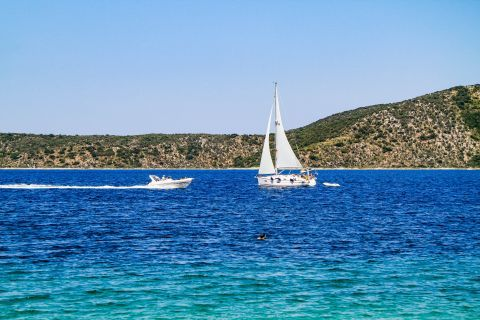 Agios Dimitrios: Amazing sea view.