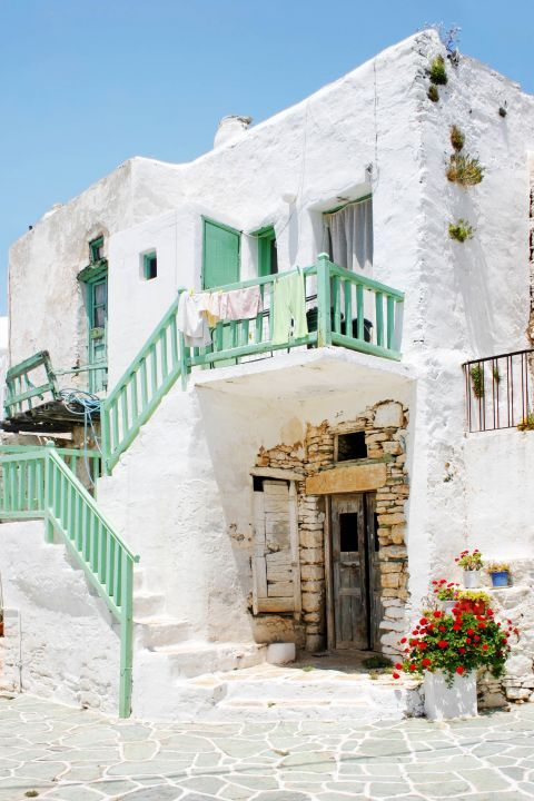Chora: An old, Cycladic house