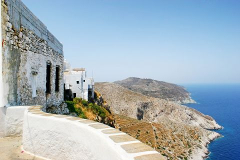 Chora: View from a high altitude.