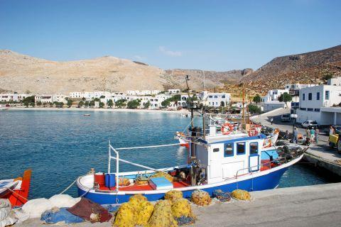 Karavostasi: A fishing boat