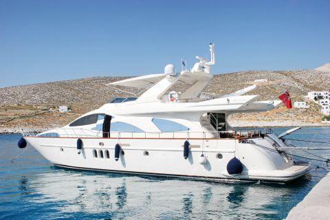 Karavostasi: A private boat