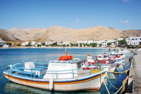 Karavostasi: Fishing boats