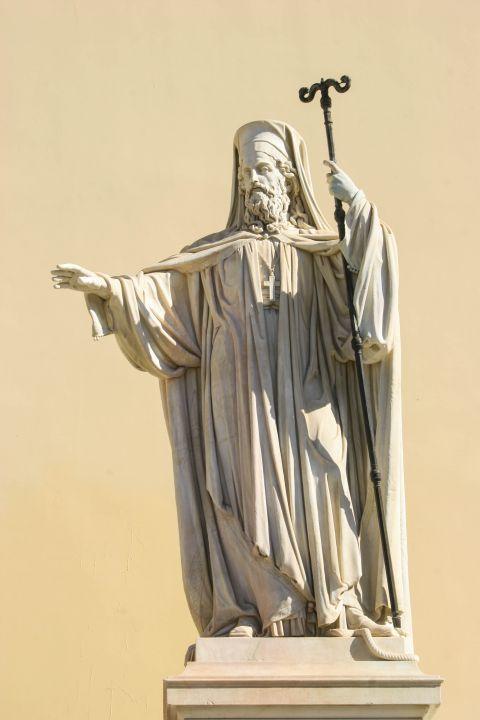 Panepistimiou Ave: Statues of Panepistimiou Ave