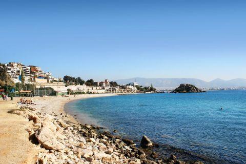 Piraeus: A beach in Pasalimani