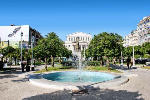 Piraeus: A square in Pasalimani