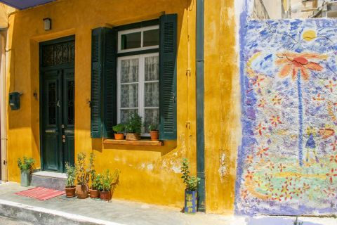 Sitia: A lovely, colorful corner.