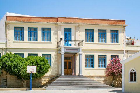 Sitia: The school of Sitia.