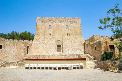 Sitia: Kazarma Fortress was built by the Venetians in the Medieval times