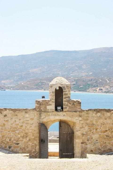 Sitia: Sea view from Kazarma Fortress.