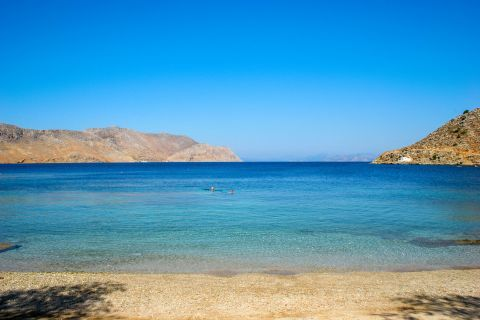 Gialos: Relaxing sea view.