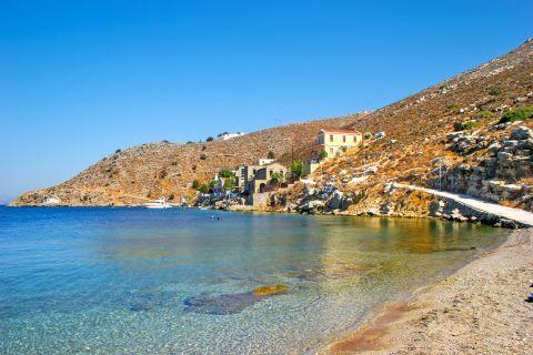 Gialos: Gialos beach.