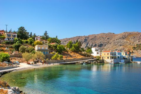 Gialos: Tranquil waters.