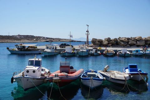 Town: The port of Donoussa