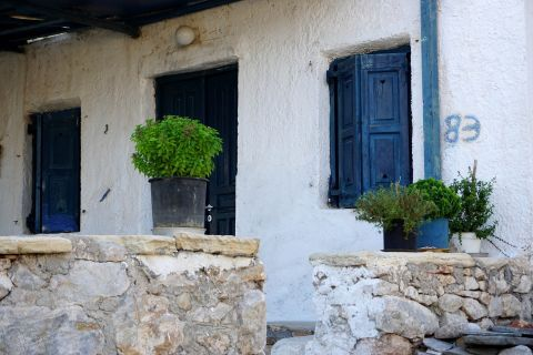 Town: A Cycladic house
