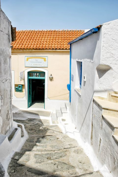 Ioulida: A traditional shop.