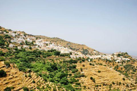 Ioulida: Panoramic view of Ioulida