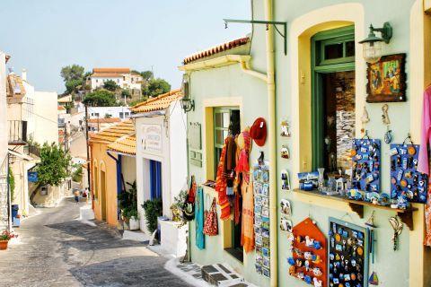 Ioulida: Souvenir shops