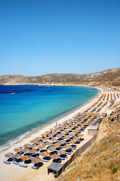 Elia: Panoramic view of Elia beach