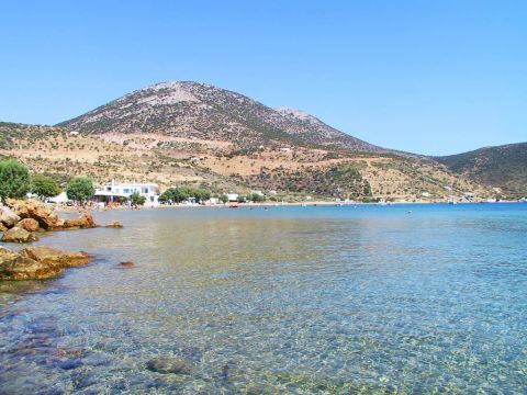 Vathy: Clear waters and hills