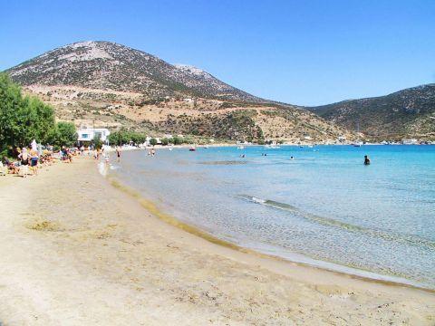 Vathy: Vathy beach