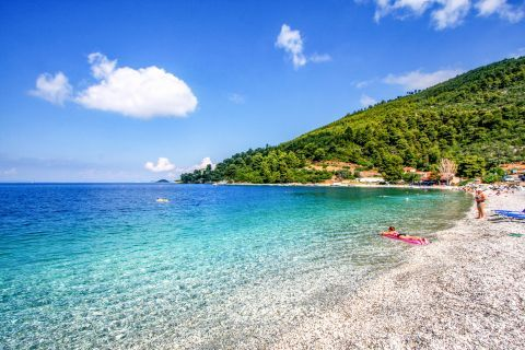 Panormos: Crystal clear waters.