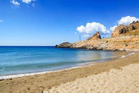 Lardos: Sea view from Lardos beach.