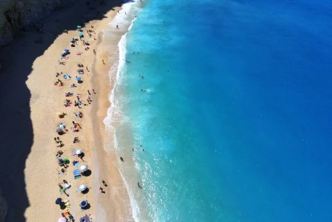 Porto Katsiki: Aerial view