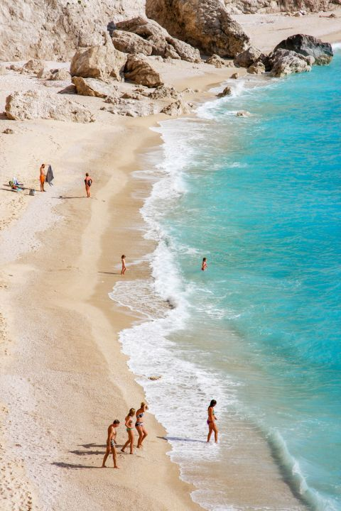 Porto Katsiki is one of the most idyllic landscapes on the island.