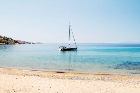 Kipri: Sea view from Kipri beach