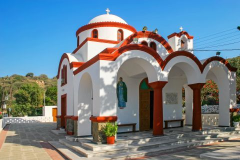 Mandraki: An impressive church.