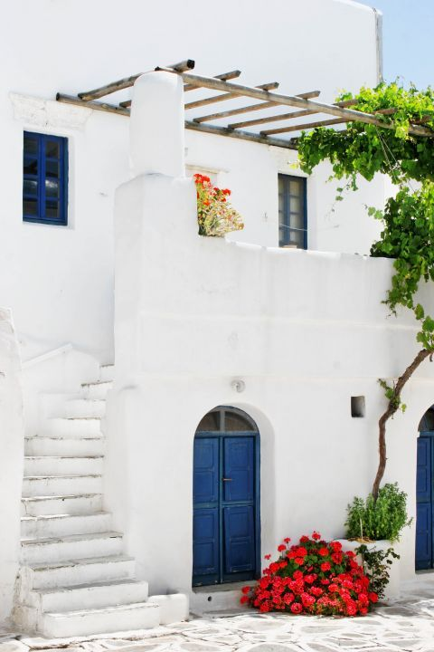 Chora: A typical Cycladic house