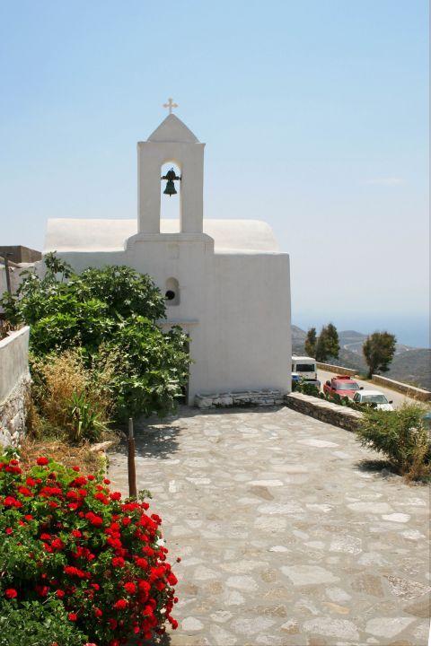 Chora: A whitewashed chapel