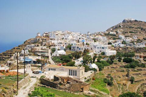 Chora: Panoramic view of Chora