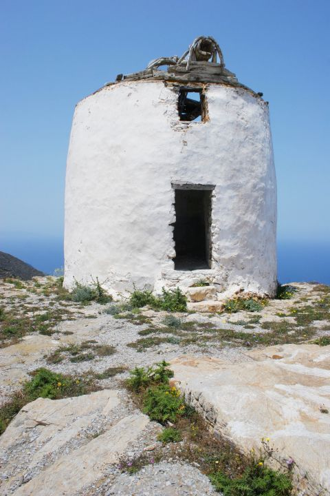 Chora: Ruins of an old windmill