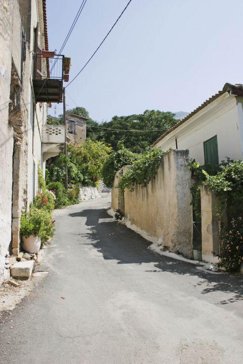 Town: Exploring the narrow alleys of Kyparissia.