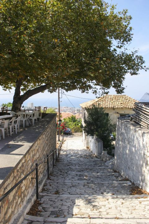 Town: Exploring the picturesque corners of Kyparissia.