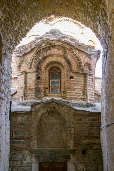 Pyrgi: An old church.