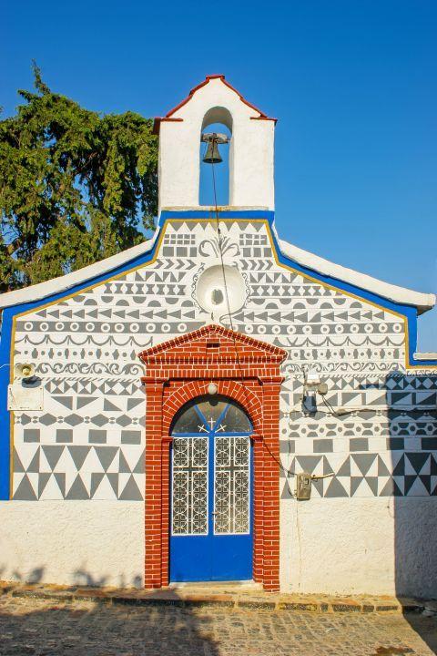 Pyrgi: A lovely chapel.