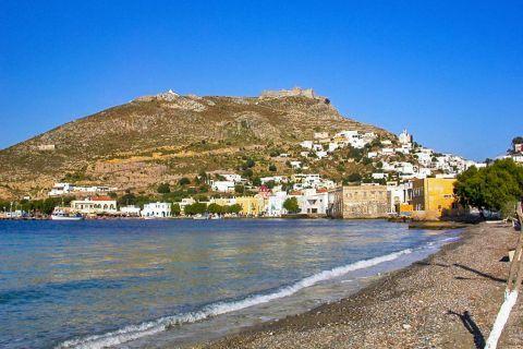 Agia Marina: A beach in Agia Marina.