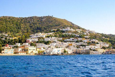 Agia Marina: Distant view of Agia Marina.