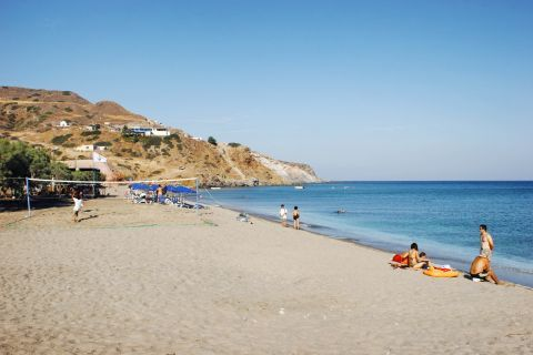 Agia Kiriaki: Sandy beach
