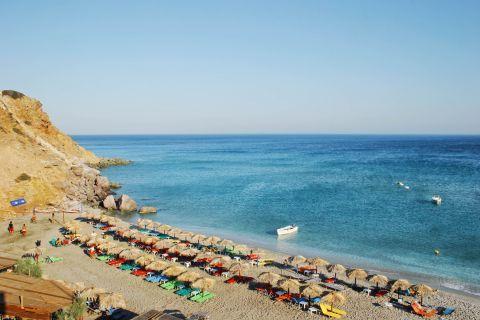 Agia Kiriaki: An organized spot