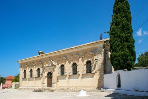 Keri: The Church of Panagia Keriotissa.